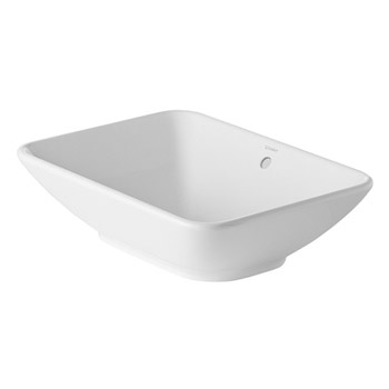 Duravit 0334520000 Bacino Vessel Lavatory - White