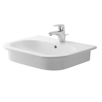 Duravit 0337540000 D-Code Vanity Basin - White