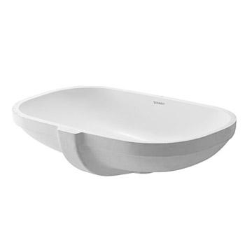 Duravit 0338490000 D-Code Vanity Basin - White