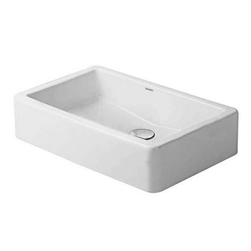 Duravit 0455600001 Vero Washbowl Ground - White/WonderGliss ...
