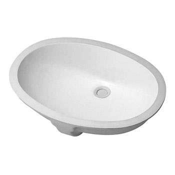 duravit santosa vanity basin white