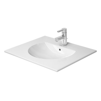 Duravit 0499630000 Darling New Furniture Washbasin with Overflow - White
