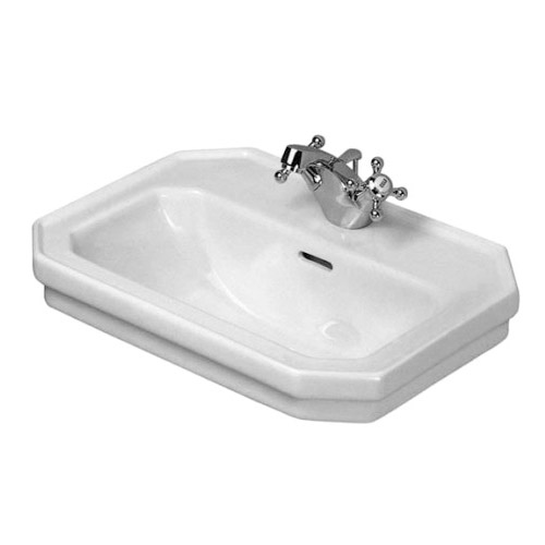 Duravit 0785500000 1930 Series Handrinse Basin with Overflow - White