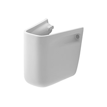 Duravit 08571700002 D-Code Siphon Cover for 070545 Washbasin - White