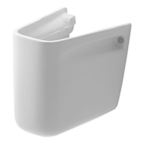 Duravit 08571800002 D-Code Siphon Cover - White
