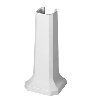 Duravit 0857910000 1930 Series Pedestal Base - White