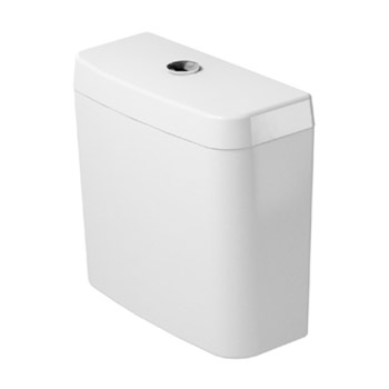 Duravit 0927100004 D-Code Cistern with Dual Flush Mechanism - White