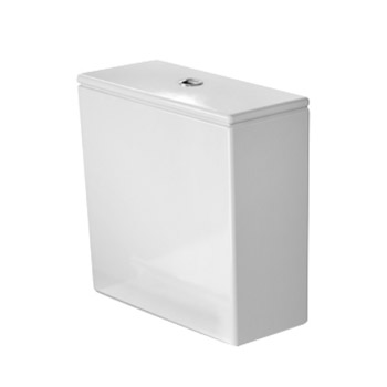 Duravit 0935200005 Cistern DuraStyle 1.32/.92 GPF Toilet Tank Only with Dual Flush - White