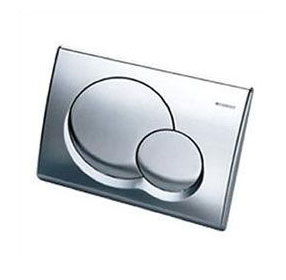 Duravit 115770211 Samba Dual Flush Actuator - Chrome