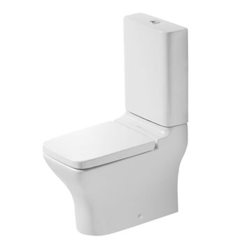 Duravit 21190900001 PuraVida Two Piece Toilet without Cictern - White / Wondergliss