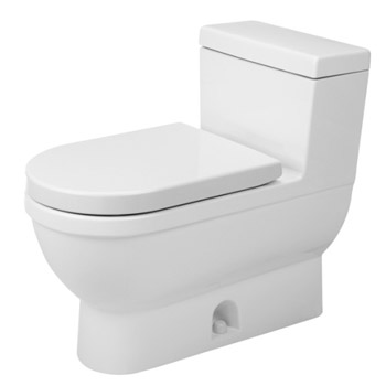 Duravit 2120010001 Stark 3 One Piece Toilet - White