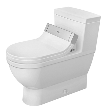 Duravit 2120510001 Starck 3 One Piece Toilet - White