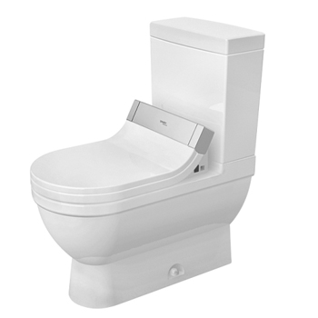 Duravit 2125510000 Starck 3 Two Piece Toilet - White