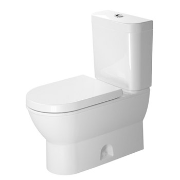 Duravit 2126010000 Darling Two Piece Toilet without Cictern - White