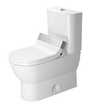 Duravit 2126510000 Darling New Two Piece Toilet - White