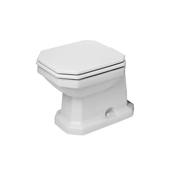 Duravit 2130010000 1930 Series Toilet Bowl - White