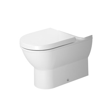 Duravit 2138090092 Darling New Washdown Model One Piece Toilet Close Coupled Bowl Only - White