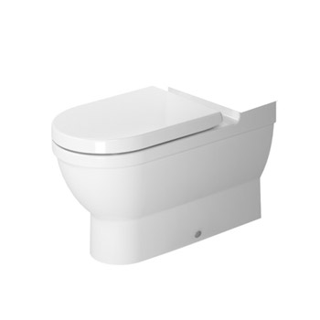 Duravit 2141090092 Starck 3 Washdown Model One Piece Toilet Close Coupled Bowl Only - White