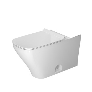 Duravit 2160010000 DuraStyle 1.28 GPF Dual Flush Elongated Toilet Bowl - White