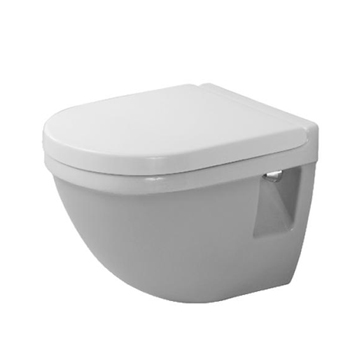 Duravit 2202090000 Starck 3 Wall Mounted Toilet - White