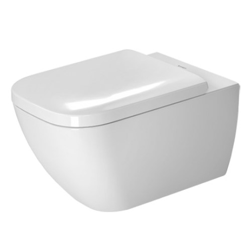 Duravit 2221090092 Happy D.2 Toilet Wall Mounted Washdown Model - White