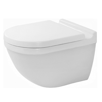 Duravit 2225090000 Starck 3 Toilet Wall Mounted - White