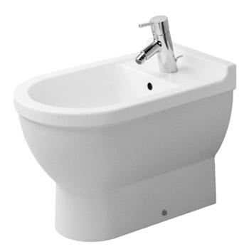 Duravit 2230100000 Starck 3 Floor Standing Bidet - White