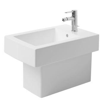 Duravit 22401000001 Vero Bidet Floor Standing with Overflow - White