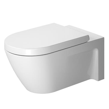 Duravit 2533090000 Starck 2 Toilet Wall Mounted - White