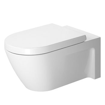 Duravit 2533090092 Starck 2 Toilet Wall Mounted Washdown Model ...