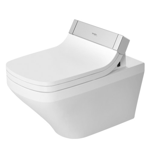 Duravit 2542590092 DuraStyle Rimless Wall Mounted Toilet - White