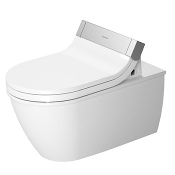 Duravit 2544590092 Darling New Washdown Model Toilet Wall Mounted - White