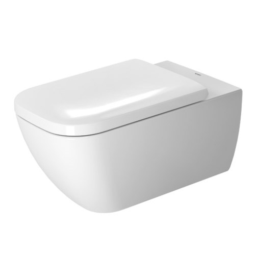 Duravit 2550090092 Happy D.2 Rimless Wall Mounted Toilet - White