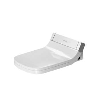Duravit 610200001001300 Starck SensoWash DuraStyle Toilet Seat with Concealed Connection - White