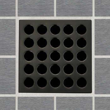 EBBE E4407 Decorative Shower Drain Cover   Oil Rubbed Bronze