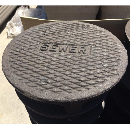 10VC Cast Iron Sewer Cover