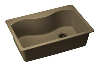 ELKAY ELGS3322RMC0 Harmony E-Granite Sink - Mocha