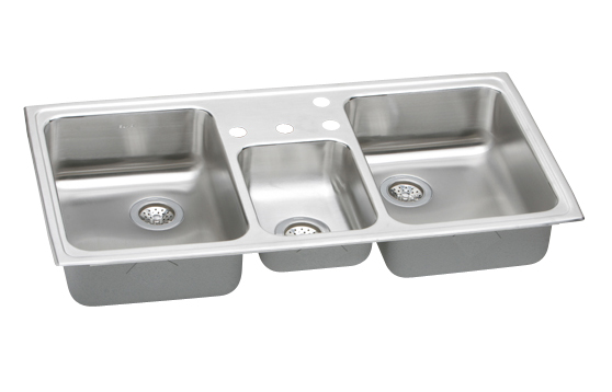 Triple Bowl Kitchen Sinks Elkay cmr4322 4 gourmet celebrity triple bowl kitchen sink wsmall elkay cmr4322 4 gourmet celebrity triple bowl kitchen sink wsmall center workwithnaturefo