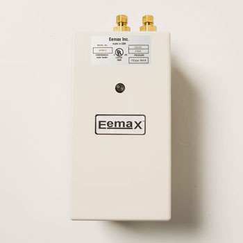 Eemax SP2412 Single Point Hand Washing Electric 2.4kW 120V Tankless Water Heater