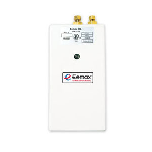 Eemax SP55 Electric 5.5kW 240V Single Point Hand Washing Tankless Water Heater - White