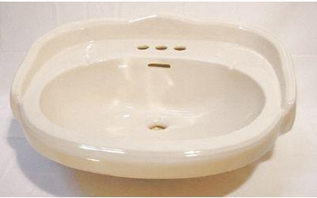 Elizabethan Classics ECAB4SBI Aberdeen 4 In. Basin Only - Bisque