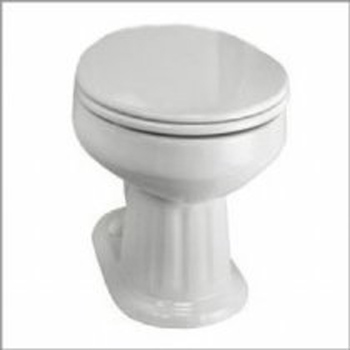 Elizabethan Classics ECABELBWH Aberdeen Elongated Toilet Bowl Only - White