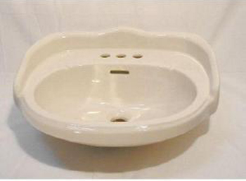 Elizabethan Classics ABP4SBI Aberdeen 4� Petite Basin Only - Bisque