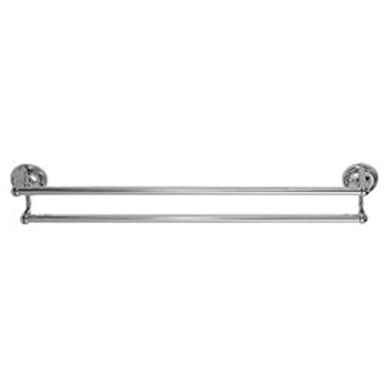 Elizabethan Classics ECDTBCP 24In Double Towel Bar - Chrome