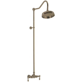 Elizabethan Classics ECES03ORB Exposed Wall Mount Shower Faucet - Oil Rubbed Bronze