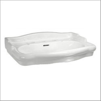 Elizabethan Classics ECET4SWH English Turn 4 In. Basin Only - White