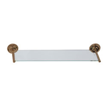 Elizabethan Classics ECGSORB Glass Vanity Shelf - Oil Rubbed Bronze
