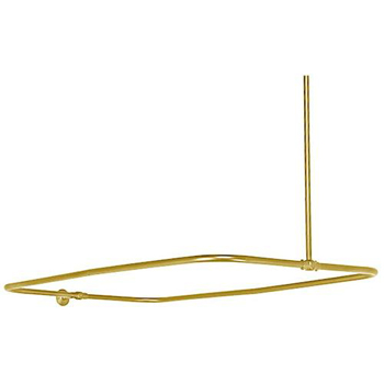 Elizabethan Classics ECSEOPB Shower Enclosure Only - Polished Brass
