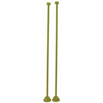 Elizabethan Classics ECSSLPB Straight Bath Supply - Polished Brass