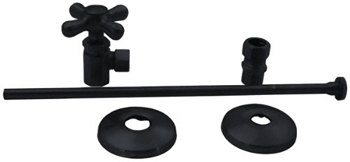 Elizabethan Classics ECTLTS1ORB Closet Angle Supply Kit - Oil Rubbed Bronze